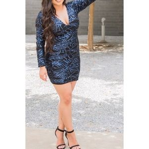Fashion Nova Sequin Dress